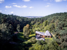 Valley Villa mit Kebony Fassade