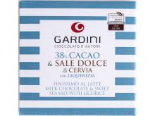 GULD – Mjölkchoklad med salt och lakrits