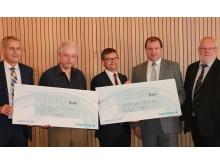 Bayernwerk spendet an Landkreis Rottal-Inn und PNP-Fluthilfe: