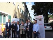 Einbau ClAir® Asphalt Passau