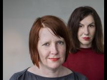 Anna Gustafsson och Lisa Röstlund