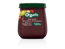 Organix just strawberry & blueberry