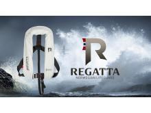 Regatta Aquasafe, ljusgrå med D-ring