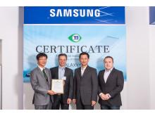 TCO certifieringscermoni