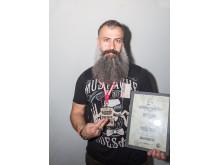 George Maajoun, finalist i Årets barberare 2018