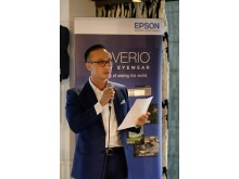 A welcome address by Mr Siew Jin Kiat, Regional General Manager (Southeast Asia), Printers and Visual Products Division, Epson Singapore.