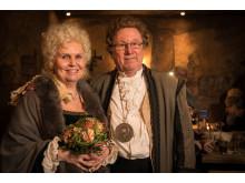 Altbürgermeister Asmus Bremer und sin Fru Katharina