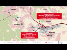 Airport connection of new Stuttgart–Ulm railway line