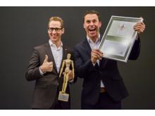 Kebony erhält den Woody Award vom GD Holz