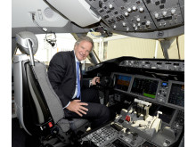 Bjørn Kjos in the Dreamliner