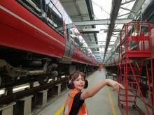David Elston in depot 2