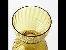 Svenskt_Tenn_Vase_Iris_Glass_Amber_14cm_4