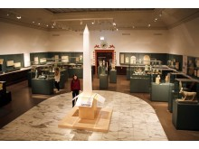 Ägyptisches Museum Leipzig - Blick in die Dauerausstellung