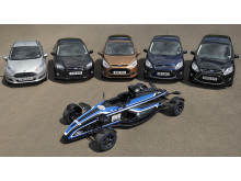 Den prisbelønte 1.0-liters EcoBoost-motoren er tilgjengelig i Fiesta, B-MAX, Focus, C-MAX og Grand C-MAX