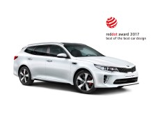 Kia Optima Sportwagon_2017 reddot award