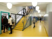 PRINS WILHELMGYMNASIET, FLEN - ett av de tio projekt sm tävlar om Svenska Ljuspriset i år