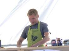 Rune Kalf Hansen under Live-Mat show på Kör Eko
