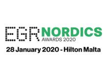 EGR Nordics Awards 2020 logo