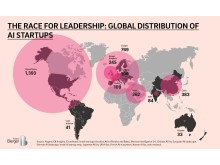 The race for leadership: global distribution of AI startups