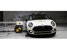 NCAP side impact crash test - Mini Clubman