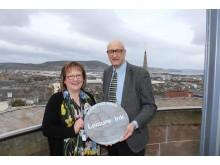 pic Sonya and High Life Highland Chief Executive Ian Murray