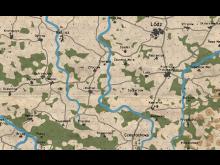 Twilight: 2000 Poland Map Detail