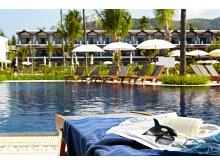 Thailand er fortsat danskernes foretrukne oversøiske rejsemål. På Phuket tilbyder Spies to Sunwing Family Resorts samt et Sunprime Hotel (billedet) direkte på stranden i Kamala.