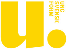 Ung Svensk Form logotyp gul