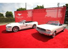 Ford Mustang nummer 10 000 000 gjordes likadan som Mustang nummer 1.