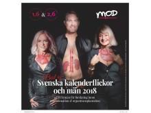 Tess Merkel, från Alcatraz, Peter Carstedt från MOD, Mer Organ Donation.