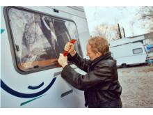 Urlaub mit Wohnmobil und Wohnwagen: Einbruchschutz nicht vergessen