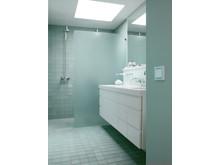 LK FUGA Hardline Deco i badeværelse