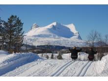 Med piggekjelke mot sjunkhatten nasjonalpark foto Valnesfjord Helsesportssente v Inger Sjöberg031