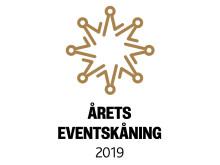 Årets Eventskåning logotyp