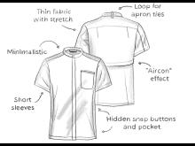 Shirt Action Sketch