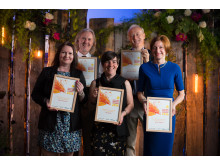 New Fiction Bursaries winners 2016