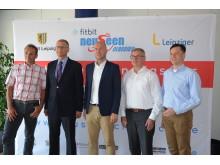 v.l.: Olaf Ludwig, Volkmar Müller, Ronny Winkler, Thomas Stuhr und Heiko Rosenthal