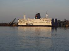 M/F Kronprins Frederik i Rødby havn
