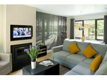 Woodland Lodge Living Area
