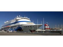 Aida Cara in the Port of Gothenburg