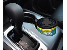 Fiber Can passar lika bra i bilens mugghållare, i båten eller i husvagnen