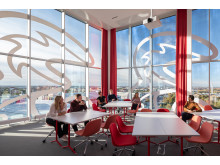 3Huset, ett utbildningsrum med utsikt