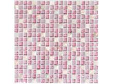 Mosaik Eventyr Den Lykkelige Familie Lyserød 30x30, 1.148 kr. M2.
