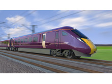 Hitachi train for East Midlands Railway