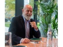 Johan Kukacka, VD för BWH Hotel Group Scandinavia