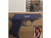 Roger Moore's Walther PPK from A View To A Kill