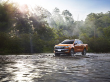 Helt nye Ford Ranger vises for første gang på den internasjonale bilutstillingen i Frankfurt
