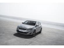 Nya Peugeot 308 med sina rena linjer och eleganta design