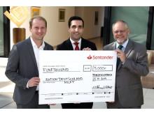 Spendenübergabe an Aktion Deutschland Hilft
