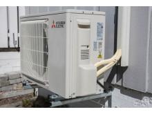 luft-til-luft-varmepumpe med R32